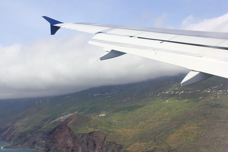 Queranflug/Base von La Palma