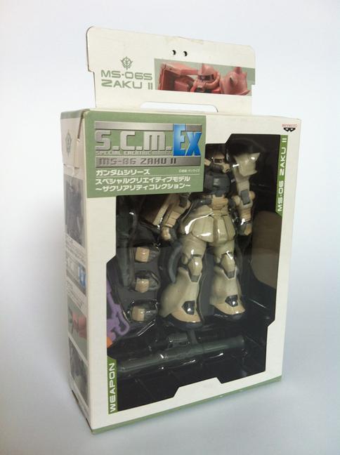 Gundam - Special Creative Model (S.C.M.) - zaku II 9162285019_977bb547ea_o