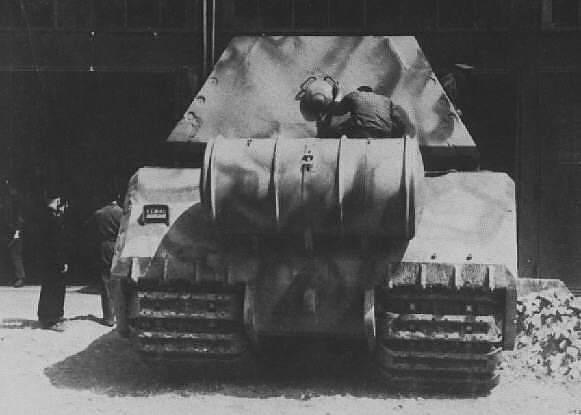 Panzerkampfwagen VIII мишката