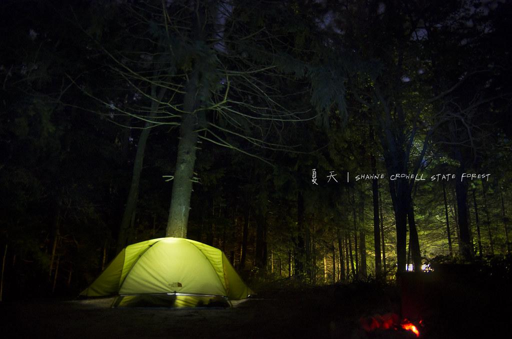 夏天系列 - 和女王去旅行露營