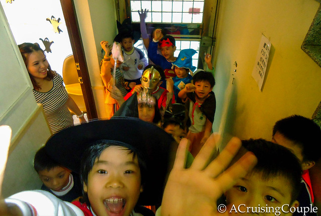 Teaching English in Taiwan Halloween