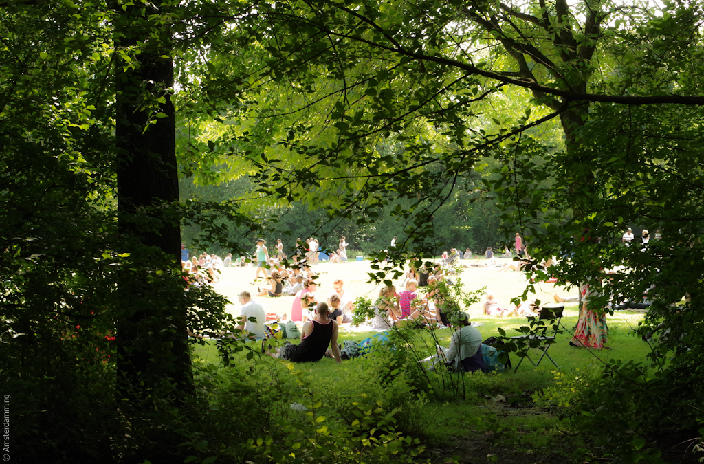 Amsterdam, Roots Festival in Oosterpark