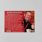 STUDS Trading Cards - Dave Shaddix