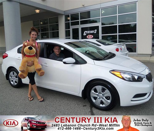 DeliveryMaxx would like to say Congratulations to Laurie Bonine of Century 3 Kia on an excellent use of our program! by DeliveryMaxx