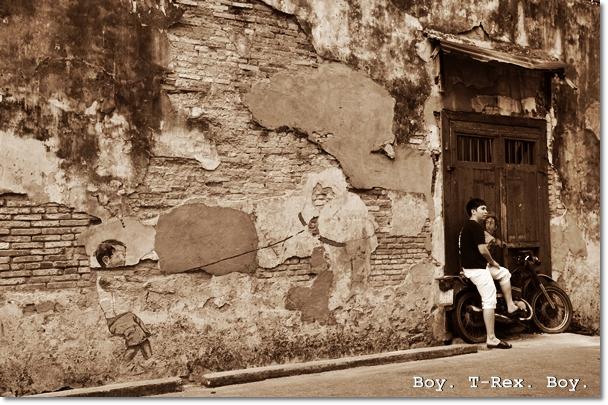 Boy & Pet T-Rex