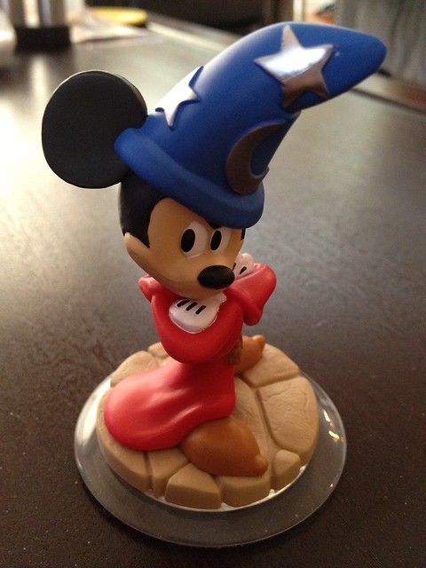 Sorcerer's Apprentice Mickey Mouse Disney Infinity figure