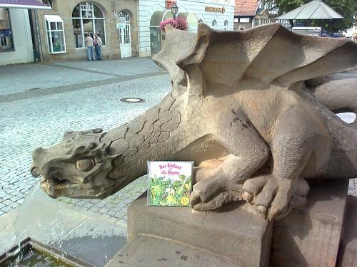 Drache in Bückeburg