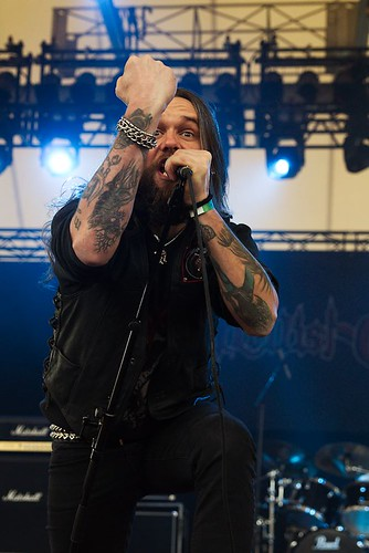 Hellish Crossfire @ Rock Hard Festival 2013 by Joachim Ziebs
