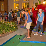 13-020 -- Students play putt putt at the Titan Carnival.