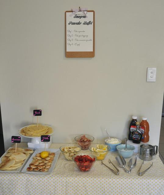 Imogen's Pancake Buffet