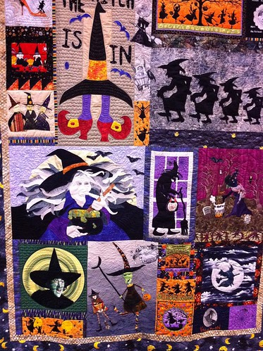 Witches R US~ Quilt by Flora Story & June Hollister
