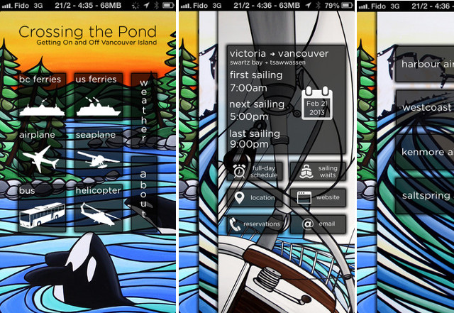 BC Ferries Apps