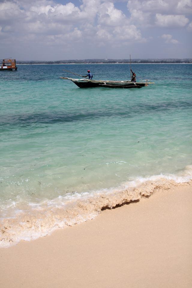 Bongoyo Island is just a 30 minute boat ride from Dar Es Salaam