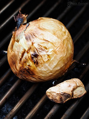 Grilled Onion and Ginger