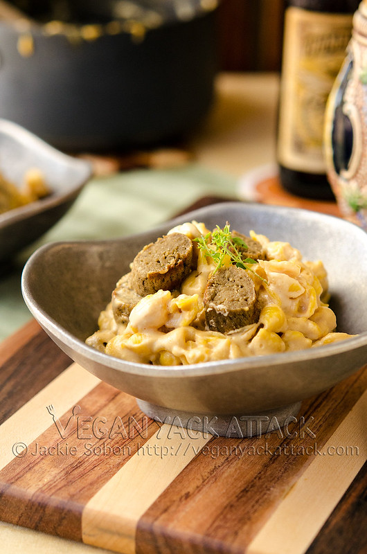 Beer & Brat Mac 'n' Cheese