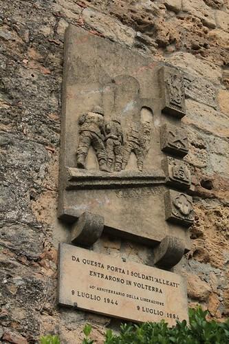 Volterra: l'entrata degli alleati