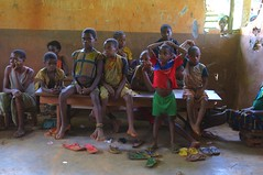 The Bakassi Peninsula, an area bordering Nigeria and Cameroon, lacks basic resources. Although primary education is free, enrolment rates are less than 50 percent. Credit: Ngala Killian Chimtom/IPS