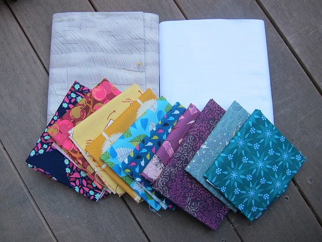 On A Whim Quilt Fabrics