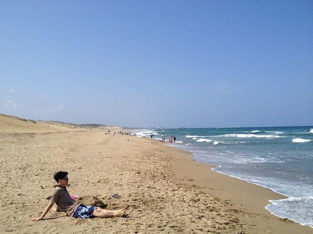 鳥取砂丘 砂浜