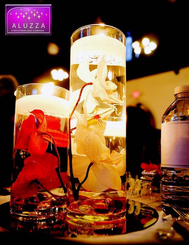 Velas flotantes para boda aluzza 15 piezas en - Velas de larga duracion ...