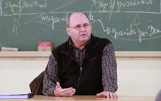 Pe. Ronaldo Zacharias assessorou o curso
