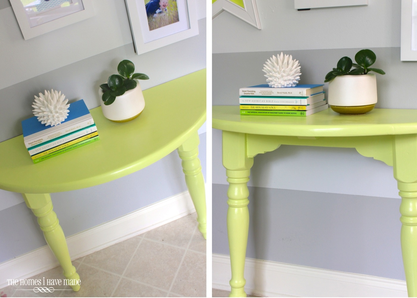 Lemon Lime Console Table-006