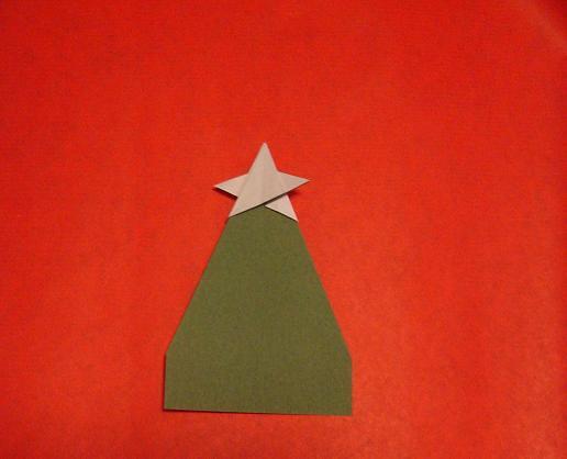origami weihnachtsbaum mit stern flickr photo sharing. Black Bedroom Furniture Sets. Home Design Ideas