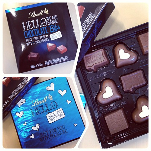 I do love a bit of surprise and delight :) Nice one @lindtaustralia