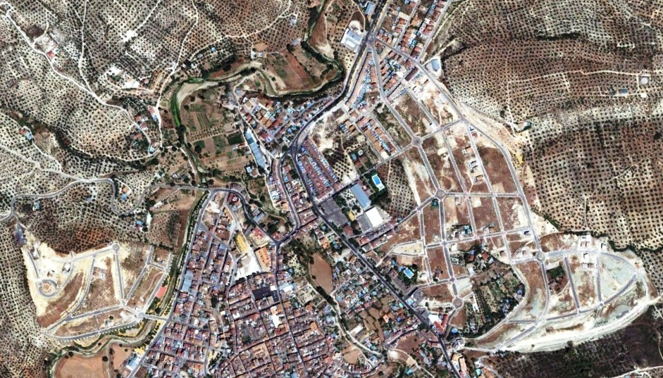 después, urbanismo, foto aérea,desastre, urbanístico, planeamiento, urbano, construcción,Los Villares, Córdoba