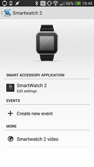 Sony SmartWatch 2 Android App