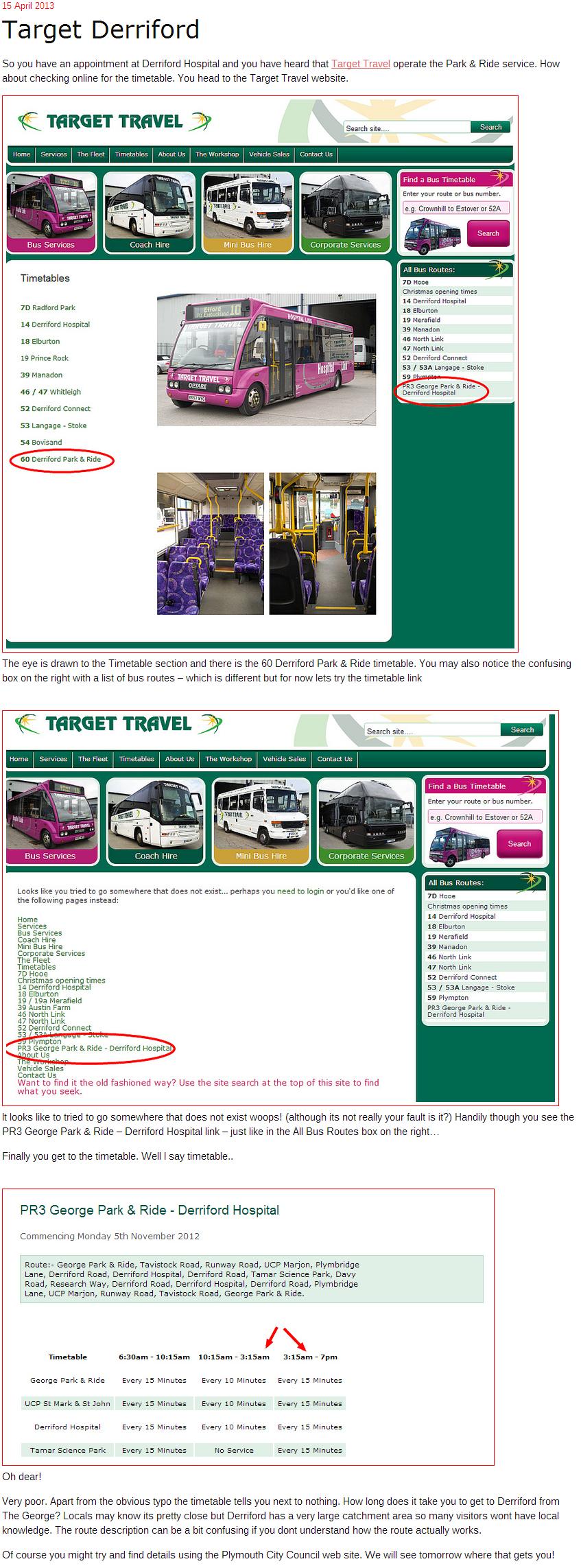 Plymothian Transit  Target Derriford