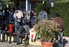 Palinuro - profughi africani