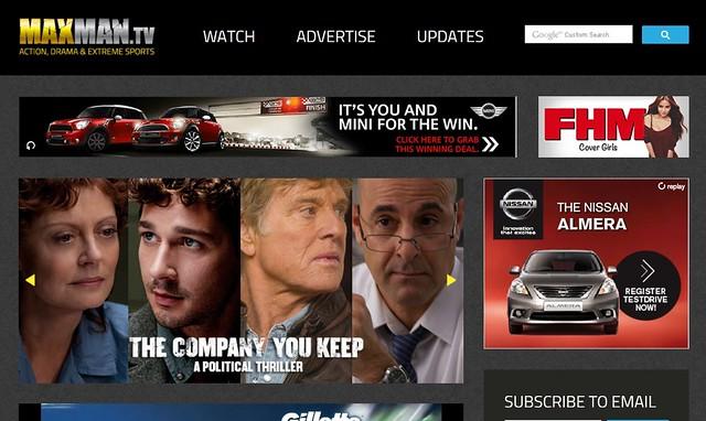 maxman TV site