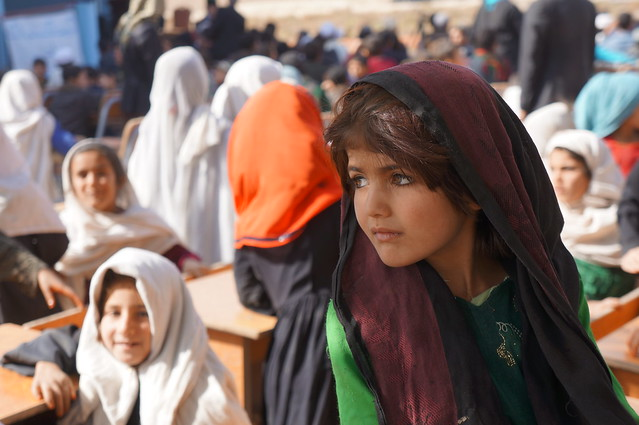 UNHCR News Story: UNHCR Special Envoy Angelina Jolie's school changes lives in Afghanistan