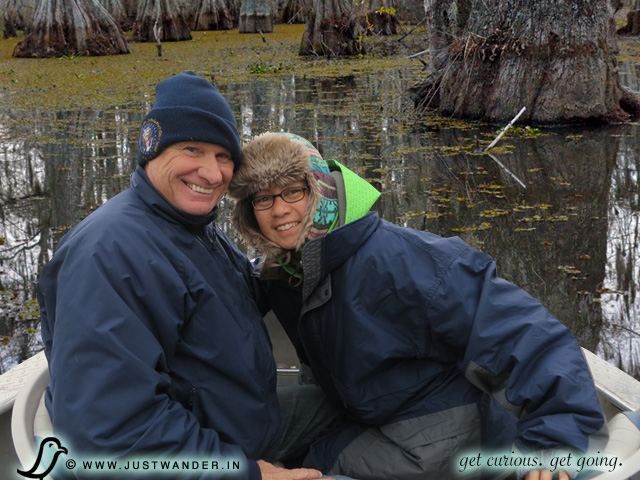 PIC: Cajun Country Swamp Tour - Maya and Bill