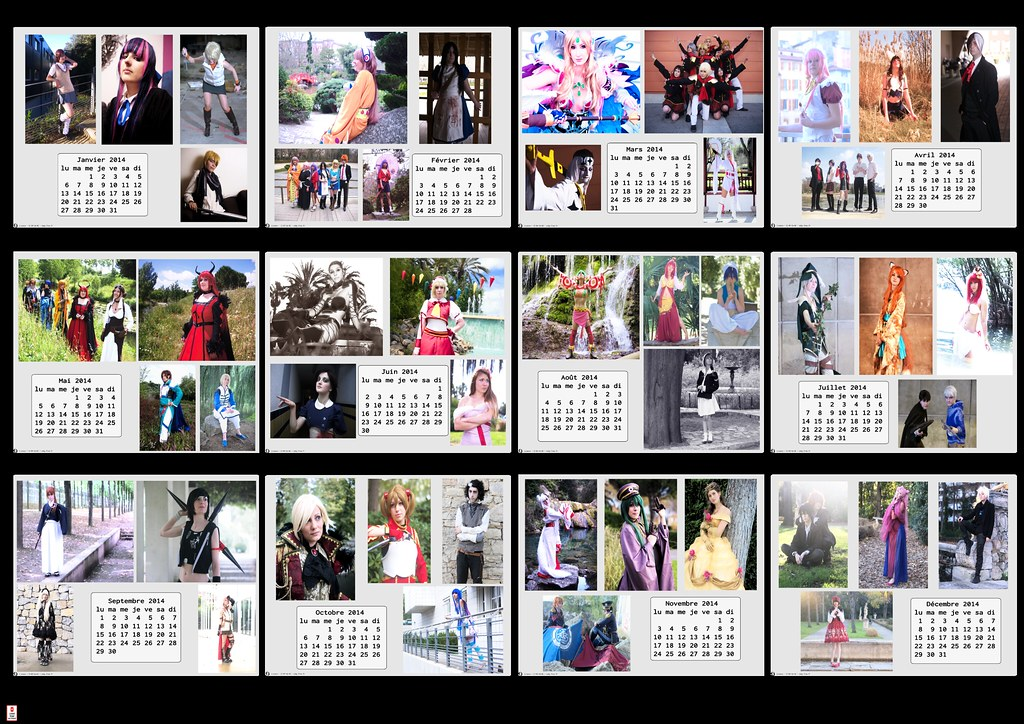 related image - Calendrier Cosplay 2014-preview
