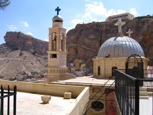 Foto de Santa Tecla en Maloula (Siria)