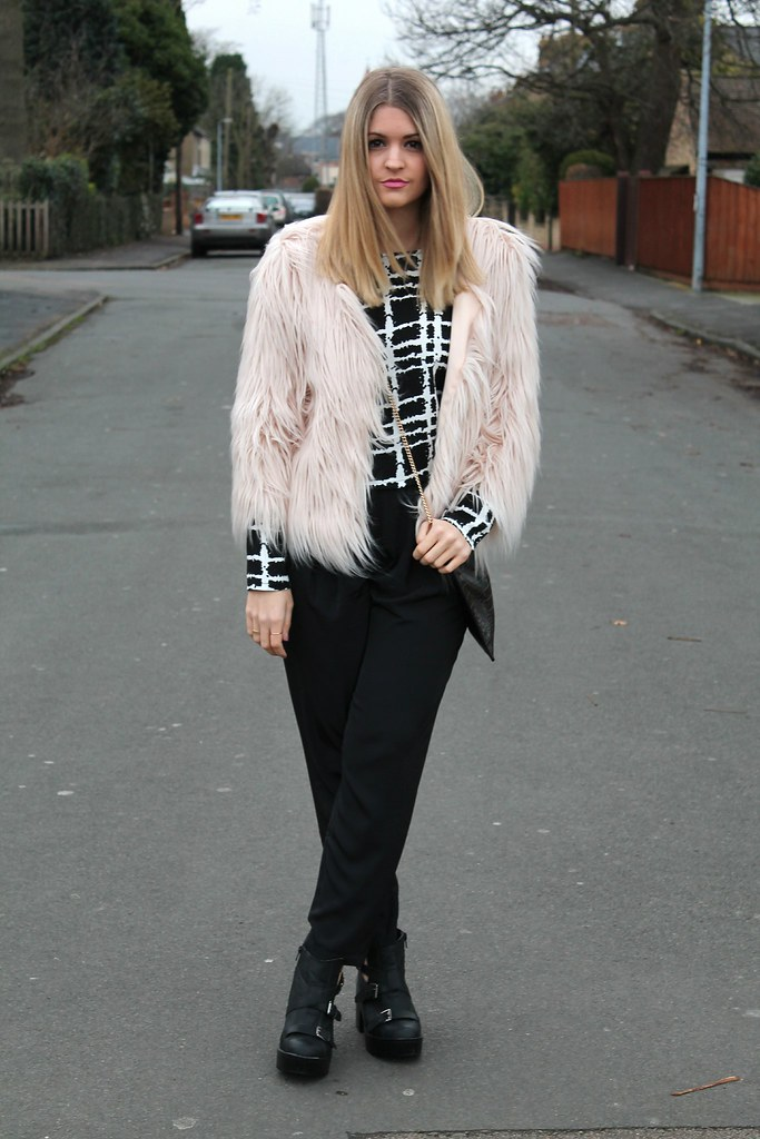 Missguided Fur OOTD