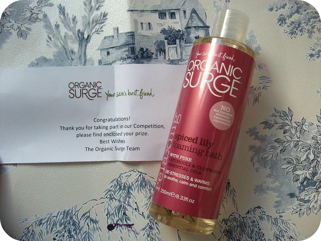 Organic Surge Spiced Lily Bath Foam