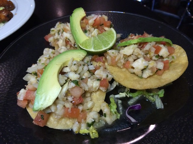 Ceviche tostadas - Frida's Mexican Grill