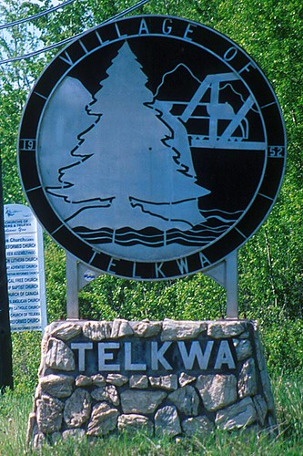 Telkwa, Yellowhead Highway 16, Northern British Columbia, Canada
