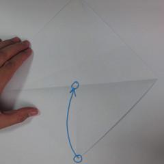 วิธีการพับกระดาษเป็นรูปม้า (Origami Horse) 009