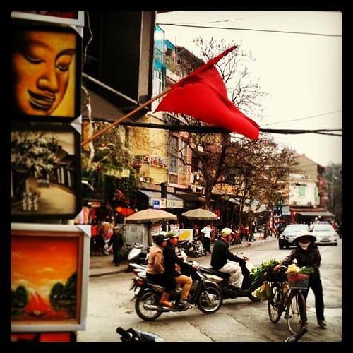 Calle de Hanoi #vietnam