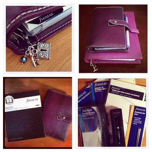 #fmsphotoaday February 10 - I am... currently rather obsessed with my Filofamily! #filofax #planner