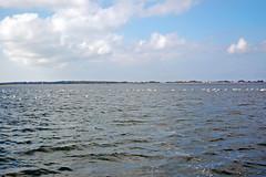 Auslaufen Richtung Hiddensee aus dem Hafen Schaprode