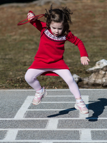 Hopscotch champion
