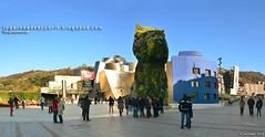 El perro del Guggenheim (Bilbao, España)