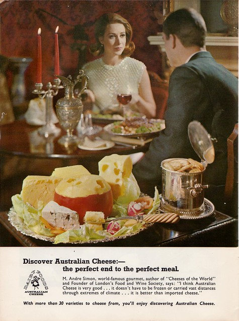 Cheese! From a 60s meat industry cookbook