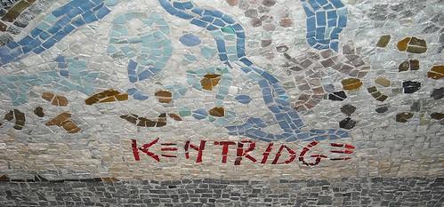 """Mosaic by William Kentridge (Johannesburg 1955) - """"Toledo"""" Underground Station in Naples"""