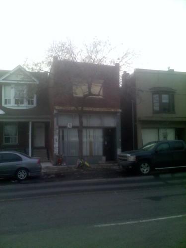1068 Dovercourt Road, scene of a fatal fire 7 March 2014